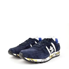 Premiata Erik Blue Suede Sneakers Vuitton Margiela Dior Size 9 $150 - Grailed