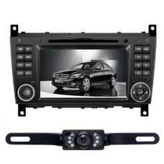 "For Mercedes-Benz C-Class W203 (2004-2007) CLC (2008-10) G-Class W467(2005-2007) 7"" HD Car DVD Player GPS Navigation BT IPOD Rear Camera Free Map CD8993R by Tyso USA. $540.00. Specially designed for Mercedes-Benz   C Class W203 (2004-2007)  CLC W203 (2008-2010)  G class W467 (2005-2007)   **Note** * pls make sure the unit fit for your car(compare the size) before order *Pls note that a harness may required to install the product on vehicles that have JBL system. And ..."