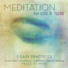 MEDITATION for Kids & Teens: 5 EASY Practices for stress relief, mindfulness, positive thinking & Meditation Kids, Mindfulness For Kids, Mindfulness Activities, Mindfulness Meditation, Mindfulness Exercises, Counseling Activities, Therapy Activities, School Counseling, Coping Skills