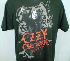Ozzy Osbourne Scream Black XL T-Shirt Cotton