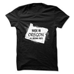 Oregon t-shirt - Made in Oregon