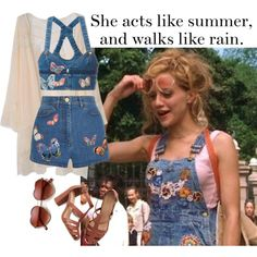 A fashion look from April 2016 featuring crop tops, embroidered shorts and party shoes. Browse and shop related looks. Girls White Dress, White Girls, 00s Fashion, Girl Fashion, Uptown Girls Movie, Grunge Girl, Aesthetic Clothes, Cool Outfits, Brittany Murphy