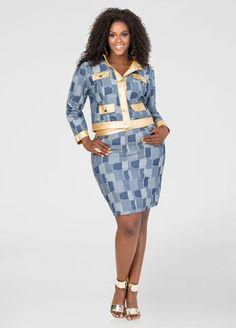 Three-Button Jean Skirt Three-Button Jean Skirt | #EverythingDenim ...