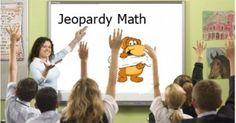 Jeopardy Math Game