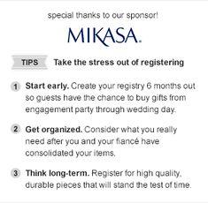 This Is A Wedding Registry Checklist Go Through Thiake