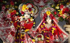 To view KIshore Kishori Close Up Wallpaper of ISKCON Chicago in difference sizes visit - http://harekrishnawallpapers.com/sri-sri-kishore-kishori-close-up-iskcon-chicago-wallpaper-009/