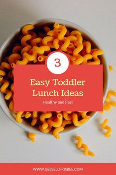 Ideas for toddler meals can be challenging if you have picky eaters! Here are my 1 year old and 2 year old 3 favorite healthy lunch recipes Healthy Baby Food, Healthy Recipes, Healthy Meals For Kids, Dinner Recipes For Kids, Baby Food Recipes, Toddler Recipes, Family Recipes, School Lunch Recipes, Lunch Snacks