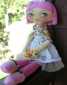 Ellie nooshka doll reserved listing by nooshka on Etsy