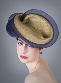 60d4b3537a0fa William Chambers Millinery SS 2014 Wearing A Hat