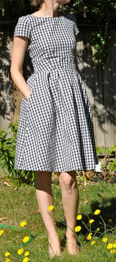 Fake It While You Make It: Gingham And Pleats And Pockets...Oh My!