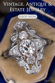 Our Estate Jewelry collection spans all Eras from Antique to Vintage and includes pre-owned modern jewelry as well. Art Deco Jewelry, Modern Jewelry, Jewelry Design, Antique Rings, Antique Jewelry, Vintage Jewelry, Stacked Wedding Rings, Wedding Ring Designs, Pear Shaped Diamond