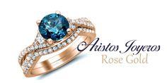 ¿Deseas diseñar y fabricar tus anillos con Diamante azul? Nosotros somos la mejor elección #Diamantes #oro  #Exclusividad #Precios Te esperamos ...