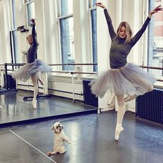 American Ballet Theatre Dancers & Their Dogs: