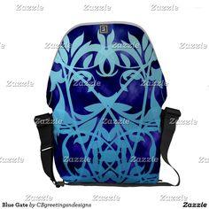 Blue Gate Messenger Bag