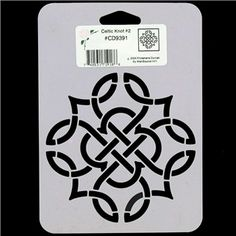 drawing kitchen cabinets motif no 2 stencil from the stencil library celtic range 3463