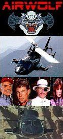 Airwolf (1984-1987) with Jan Michael Vincent, Ernest Borgnine, Alex Cord and Jean Bruce Scott and later Barry Van Dyke