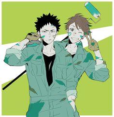 Hajime Waizumi & Tooru Oikawa