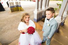 The beautiful wedding of Stacey & Marley August 2015 at Duntryleague Orange Girls Dresses, Flower Girl Dresses, Amazing Weddings, Orange, Wedding Dresses, Beautiful, Fashion, Dresses Of Girls, Bride Dresses