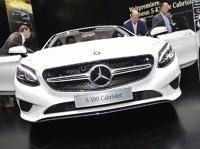 New #Mercedes - #Benz #S-Klasse Cabriolet 2015 on #IAA