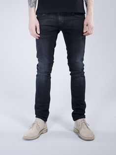 4e9562f6e44fb Nudie Jeans · Unmistakably cool and clean with lots of character and  attitude. The top block has been