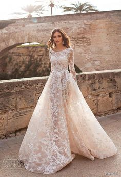 "2019 Wedding Dresses — ""Dolly"" Bridal Collection naviblue 2019 bridal long sleeves bateau neck full embellishment elegant modest a line wedding dress covered lace back chapel train mv -- Naviblue 2019 Wedding Dresses Asian Wedding Dress, Western Wedding Dresses, Modest Wedding Dresses, Perfect Wedding Dress, Designer Wedding Dresses, Maxi Dresses, Asian Bridal Dresses, Ceremony Dresses, Bridal Gowns"