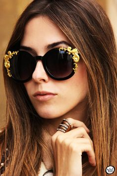 The Sunglasses. Must. Have. Now. xx Dressed to Death xx #accessories #jewelry #fashion #style #art