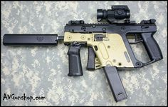 KRISS SUPER V 45 ACP SBR CUSTOM BI-TONE FDE & BLK : Short Barrel Rifles (SBR) at GunBroker.com