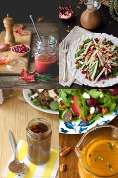 The produce in your salads has changed from summer to fall, so why not your choice of vinaigrette? I find I end up making the same easy vinaigrette for my salads no matter the season, but things could be a whole lot more interesting with the help of these four bloggers.