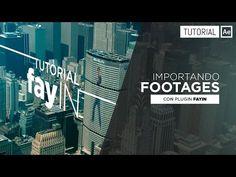 FayIN Tutorial [Importando Footages] - Tutorial After Effects [Español] - YouTube
