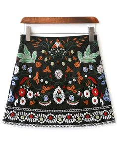 SHARE & Get it FREE | Floral Embroidered Mini SkirtFor Fashion Lovers only:80,000+ Items • New Arrivals Daily Join Zaful: Get YOUR $50 NOW!