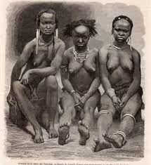 IMAGE-1865-ENGRAVING-GABON-TRIBU-PAHOUIN-TRIBE-FEMMES-