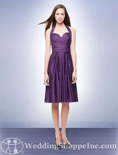 b01015c7aa8 Bill Levkoff Bridesmaid Dress Style 140 in Plum