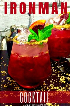 Why Love The Beyond Awesome IronMan Plus IronMan Cocktail Ready to throw a Marvel themed party? Get IronMan fans covered with this cool, refreshing and delicious IronMan Cocktail! Party Drinks, Cocktail Drinks, Fun Drinks, Cocktail Recipes, Alcoholic Drinks, Non Alcoholic Margarita, Liquor Drinks, Beverages, Healthy Eating Tips