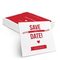 Save the Date Farbklecks in Kirsche - Postkarte quadratisch #Hochzeit #Hochzeitskarten #SaveTheDate #kreativ #modern https://www.goldbek.de/hochzeit/hochzeitskarten/save-the-date/save-the-date-farbklecks?color=kirsche&design=c95e8&utm_campaign=autoproducts