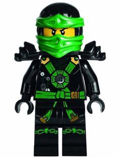 LEGO® Ninjago: Deepstone Lloyd Ninja Minifigure: Amazon.de: Spielzeug