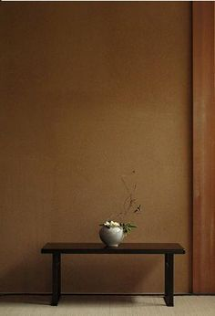 Keyaki wooden table by kozan, Japan Traditional Japanese House, Japanese Modern, Japanese Interior, Japanese Style, In Praise Of Shadows, Japan Painting, Deco Nature, Steampunk House, Japanese Flowers