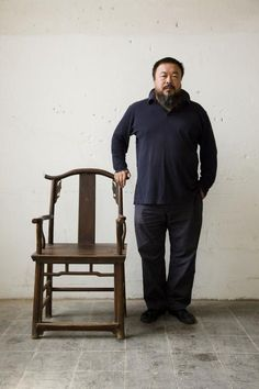 Ai Weiwei - Martin Parr 2007 GERMANY. Kassel. Documenta 12 Art Exhibition. The artist,...