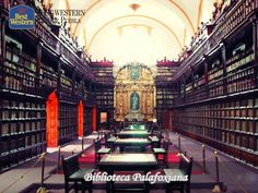 La biblioteca Palafoxiana. EL MEJOR HOTEL EN PUEBLA. La biblioteca Palafoxiana, fundada en 1646, fue la primera de América y se encuentra en el centro histórico de la ciudad. La UNESCO la incluyó en el año 2005 en el Programa Memoria del Mundo, con un acervo 45 mil 058 libros antiguos; 5,348 manuscritos, 9 incunables, 2 mil ejemplares sueltos y 7 impresos mexicanos. En Best Western Real de Puebla, le invitamos a reservar con nosotros llamando al (222)2300122.