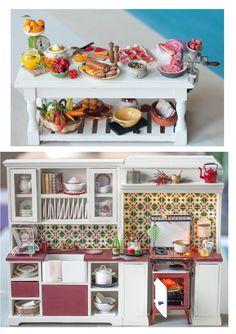 by IGMA Artisan Teresa Martínez      Alimentos para coleccionistas escala 1/12.      Handmade food in 1:12 scale