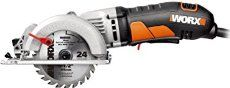 Cut stock lumber with ease and maneuverability with the WORX WORXSAW compact circular saw. It can replace your need for a full-size circular saw! Mini Serra Circular, Mini Circular Saw, Compact Circular Saw, Circular Saw Reviews, Cordless Circular Saw, Circular Saw Blades, Concrete Stepping Stones, Garden Stepping Stones, Diy Concrete
