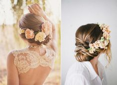 2014 Boho Wedding Hair Styles Ideas