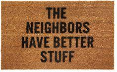 Best. Doormat. Ever.