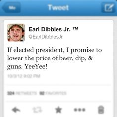 Earl Dibbles Jr for President 2016