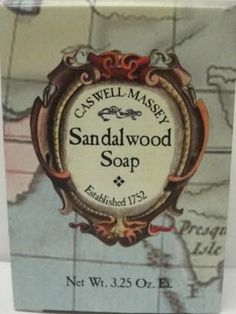 Caswell-Massey Best soap ever!