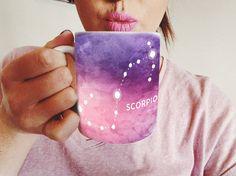 Mug - regalo per uno Scorpione - Scorpione Astrologia Scorpione zodiaco presenti - regalo di compleanno di novembre - Scorpione astrologico tazza di caffè - tazza di caffè