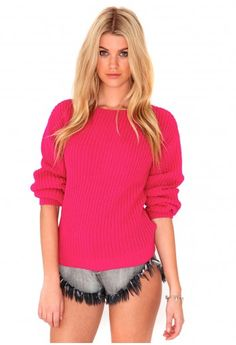 Parma Knitted Jumper- knitwear- missguided