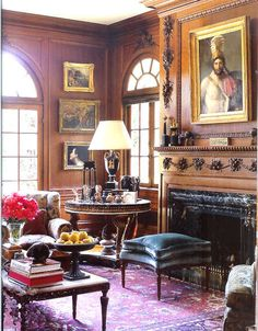 January 2011 - The Enchanted Home Rooms by designer Timothy Corrigan http://enchantedhome.com/2011/01/