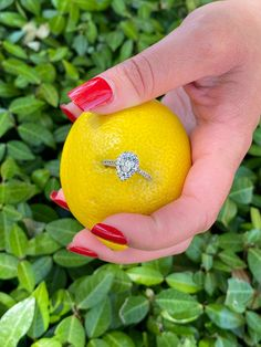 Lemony Love! Obsessed with CALVIN'S perfect pear cut engagement ring❤️🥰