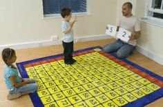 100's...this would be a great brain break and get up and move activity while still learning!