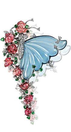 Butterfly earrings by Mirari